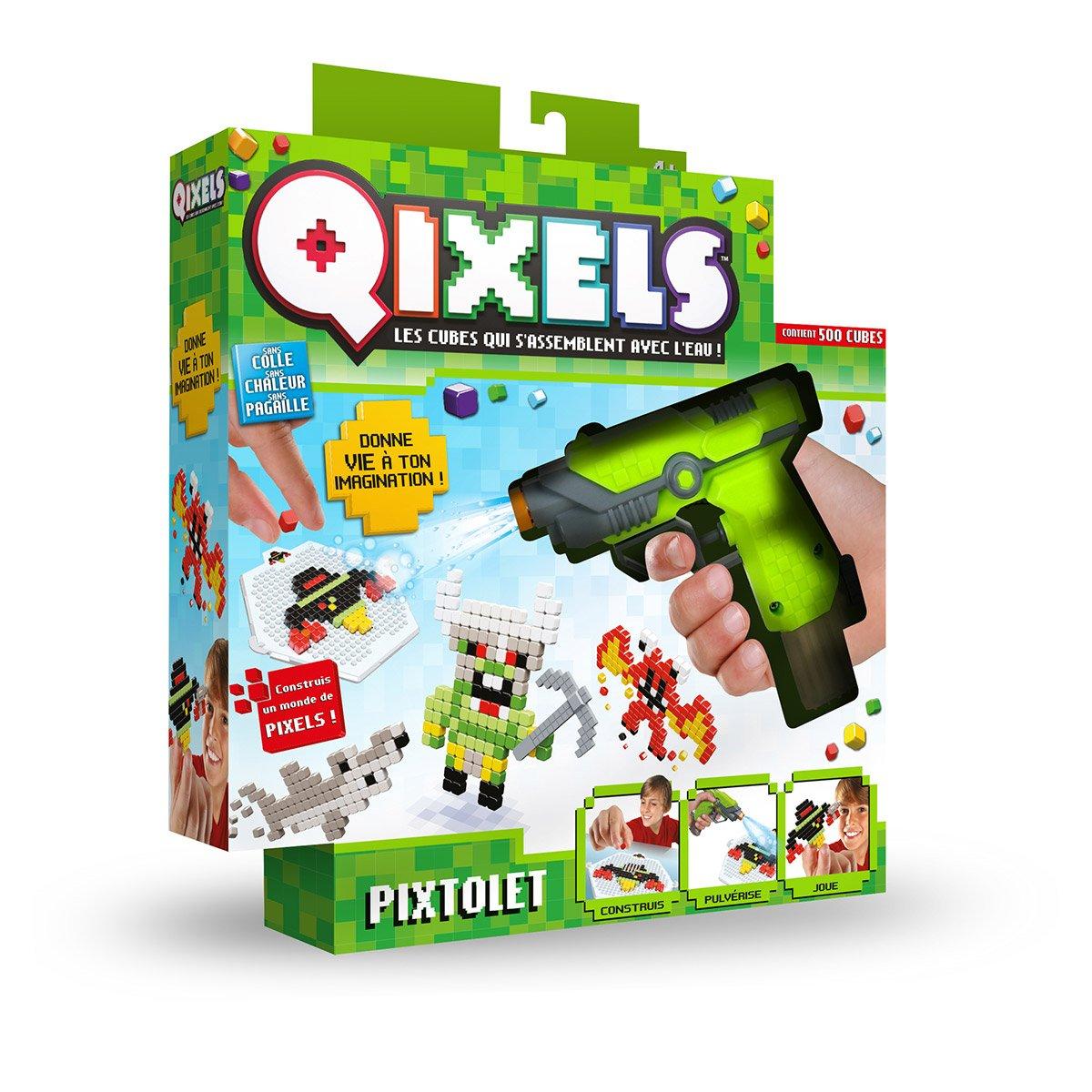 Pixtolet Qixels - Autres Activités Créatives - La Grande Récré dedans Pixel Jouet