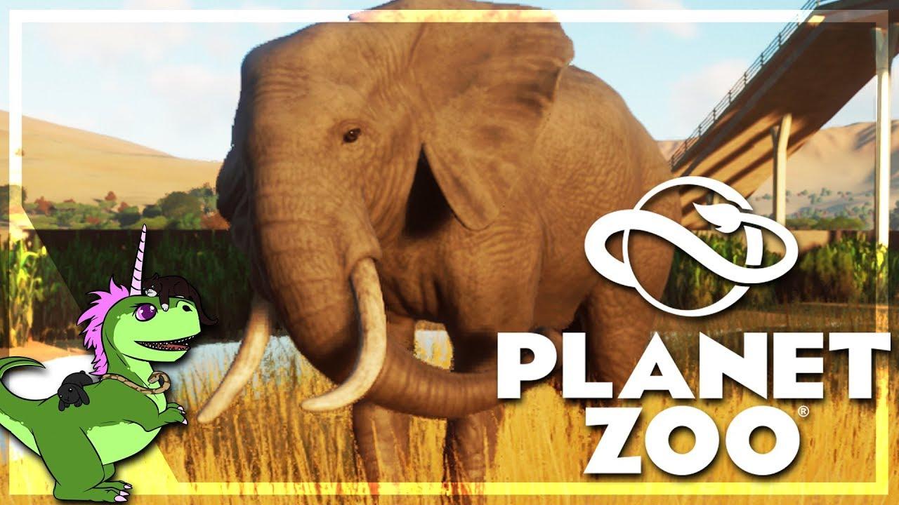 Planet Zoo : Un Éléphant Caractériel ! #4 encequiconcerne Femelle De L Éléphant Nom