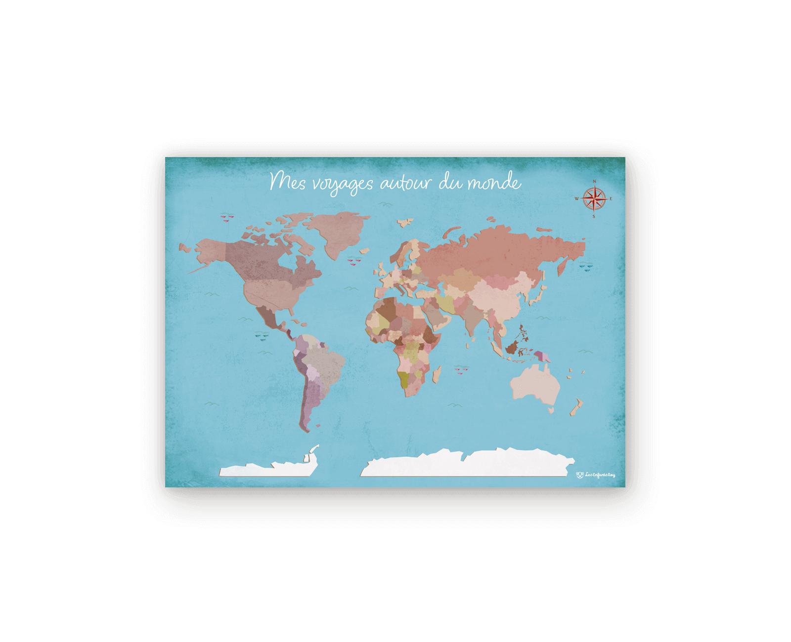 Planisphère - Les Enfants Roy dedans Planisphère Enfant