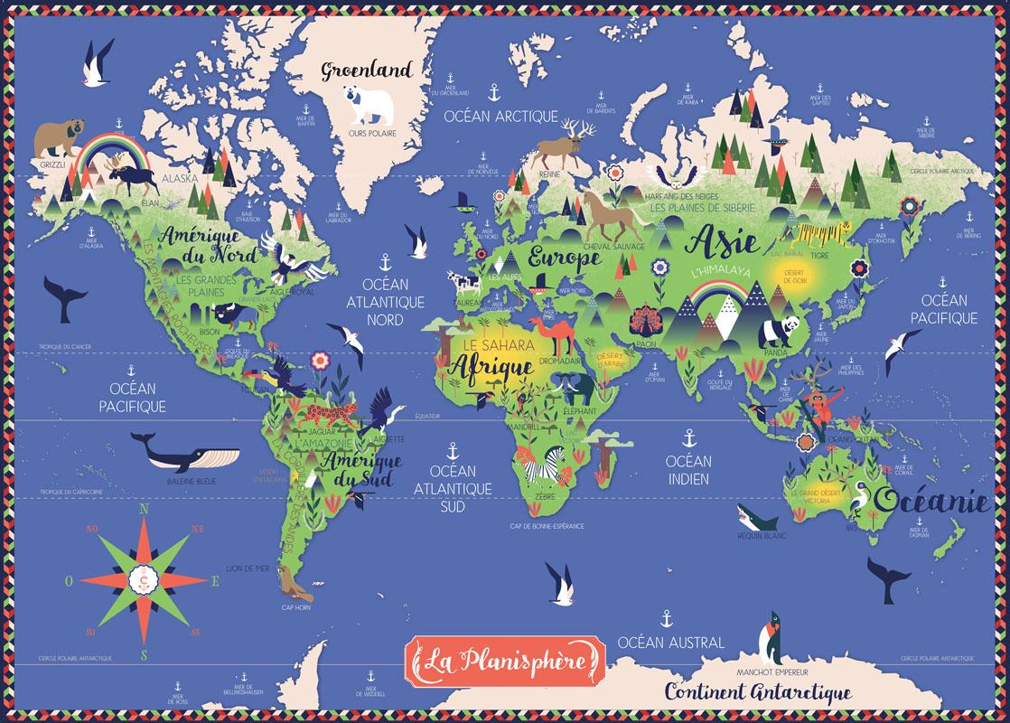 Planisphere | Nature & Découvertes concernant Planisphère Enfant