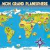 Planisphere+Enfant+Blog+1 (1600×1133) | Planisphere serapportantà Planisphère Enfant