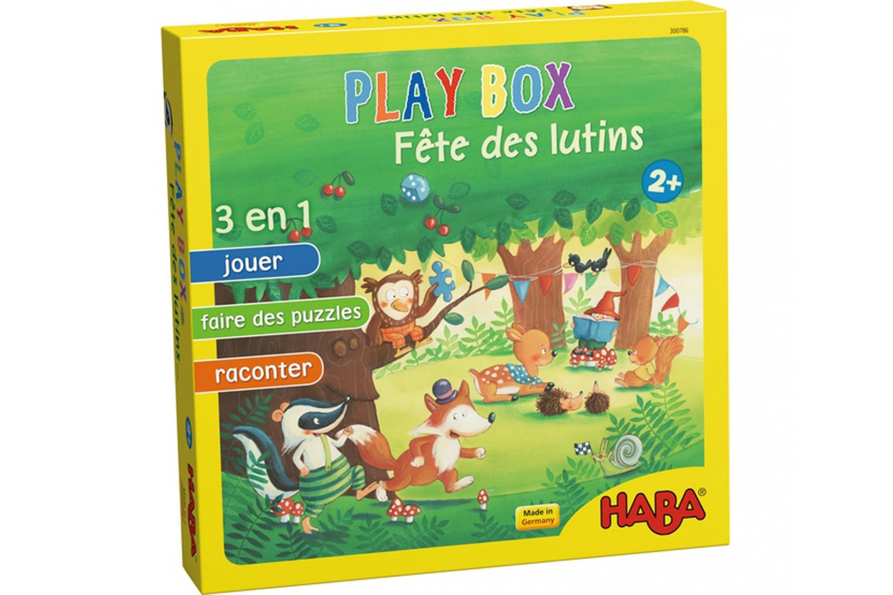 Play Box Haba - Fête Des Lutins - Jeux De Société Haba - A pour Jeux De Société À Partir De 2 Ans