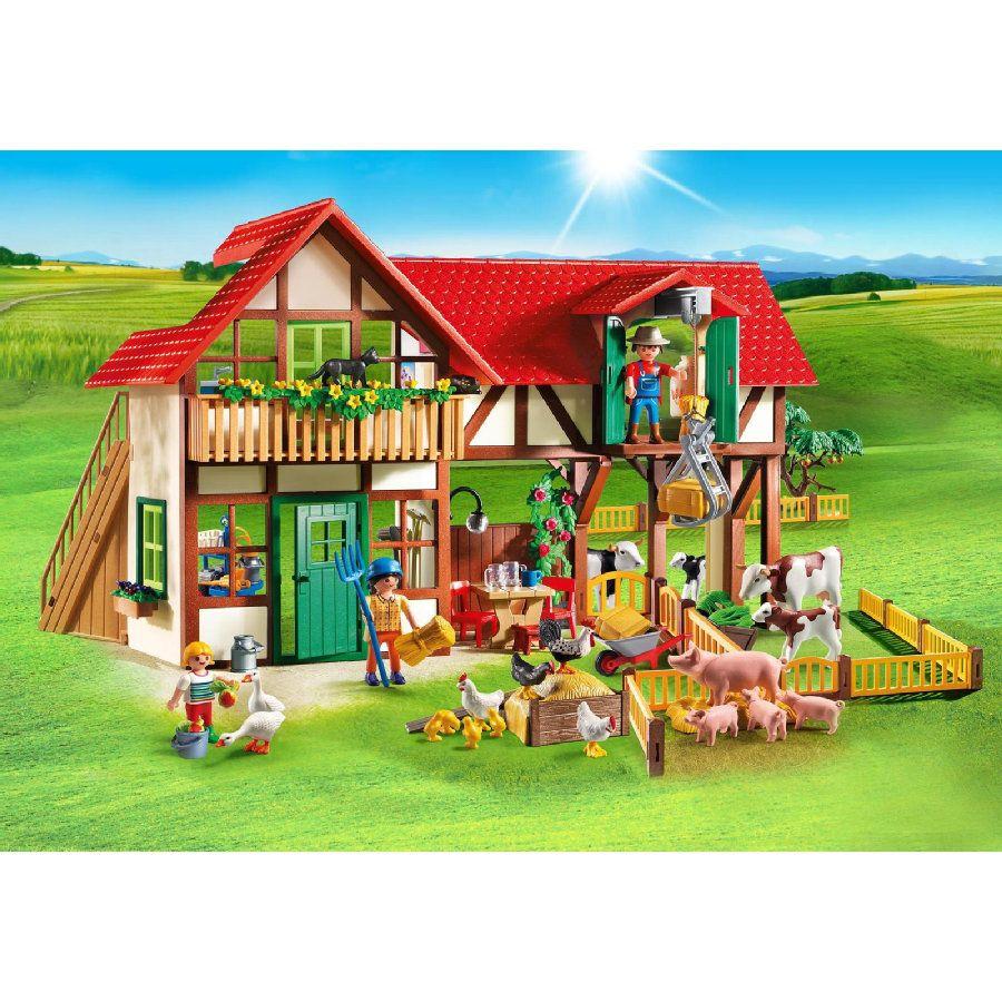 Playmobil® Country Grande Ferme 6120 | Ferme Playmobil dedans Jeux En Ligne De Ferme