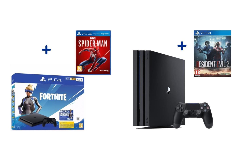 Playstation 4 : La Slim À 184 € Et La Pro À 279 €, Le Tout tout Jeu De 4 Images
