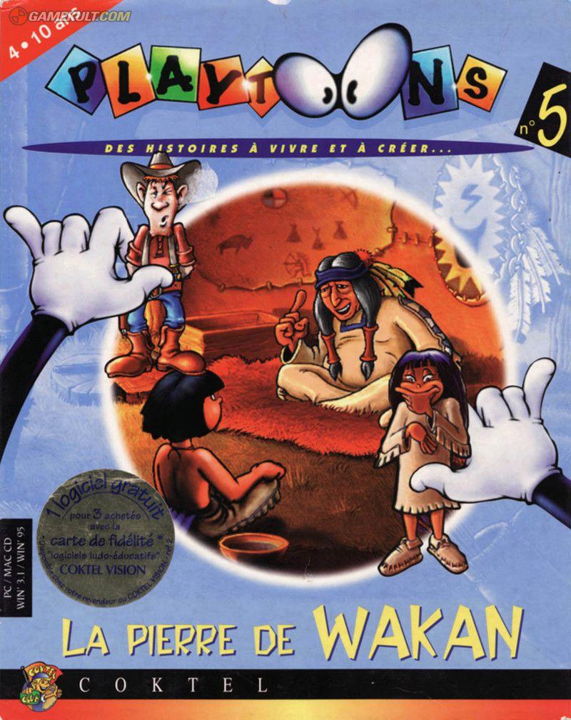 Playtoons 5 : La Pierre De Wakan (1995) - Jeu Vidéo à Jeux Adibou Pc