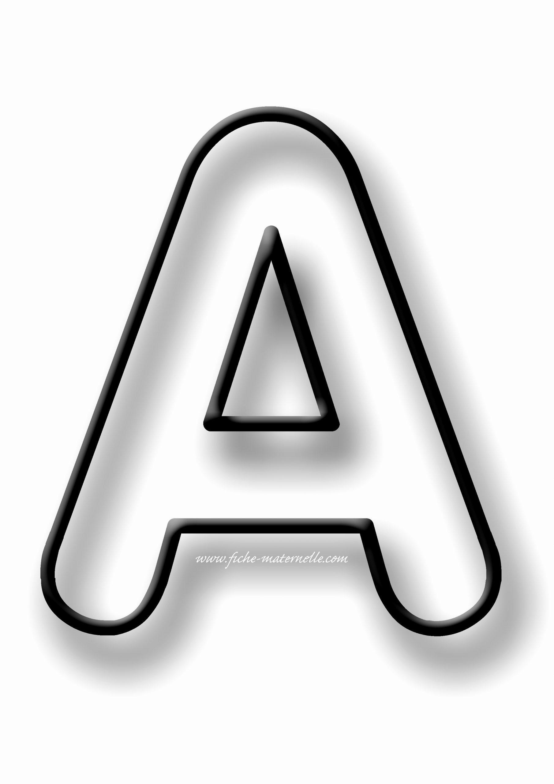 Pochoir A Imprimer Gratuit – Gamboahinestrosa concernant Lettre A Imprimer Gratuit