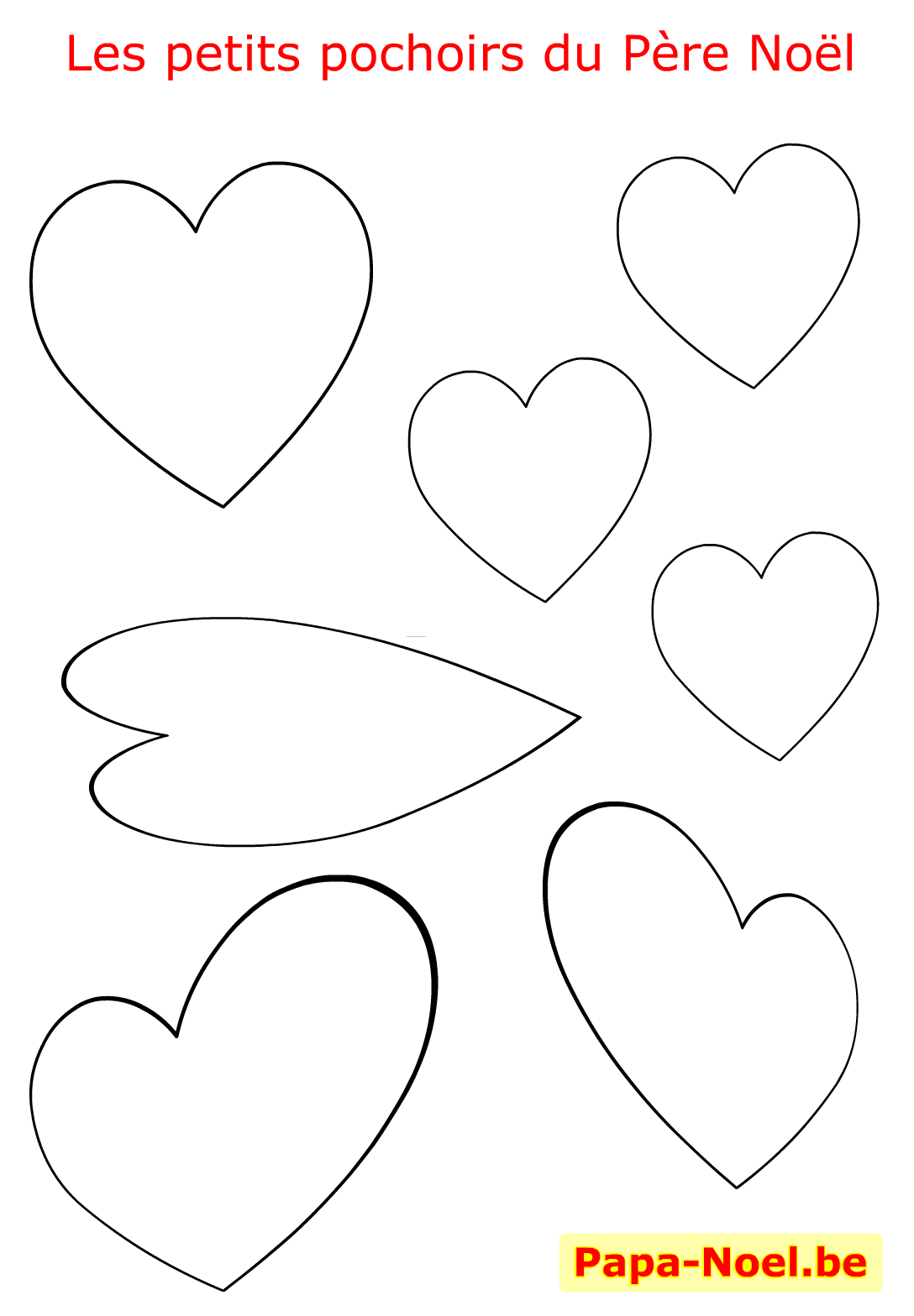Pochoir De Noel Pochoirs À Imprimer Gratuit Dessin Coeur D concernant Coeur A Imprimer Et Decouper