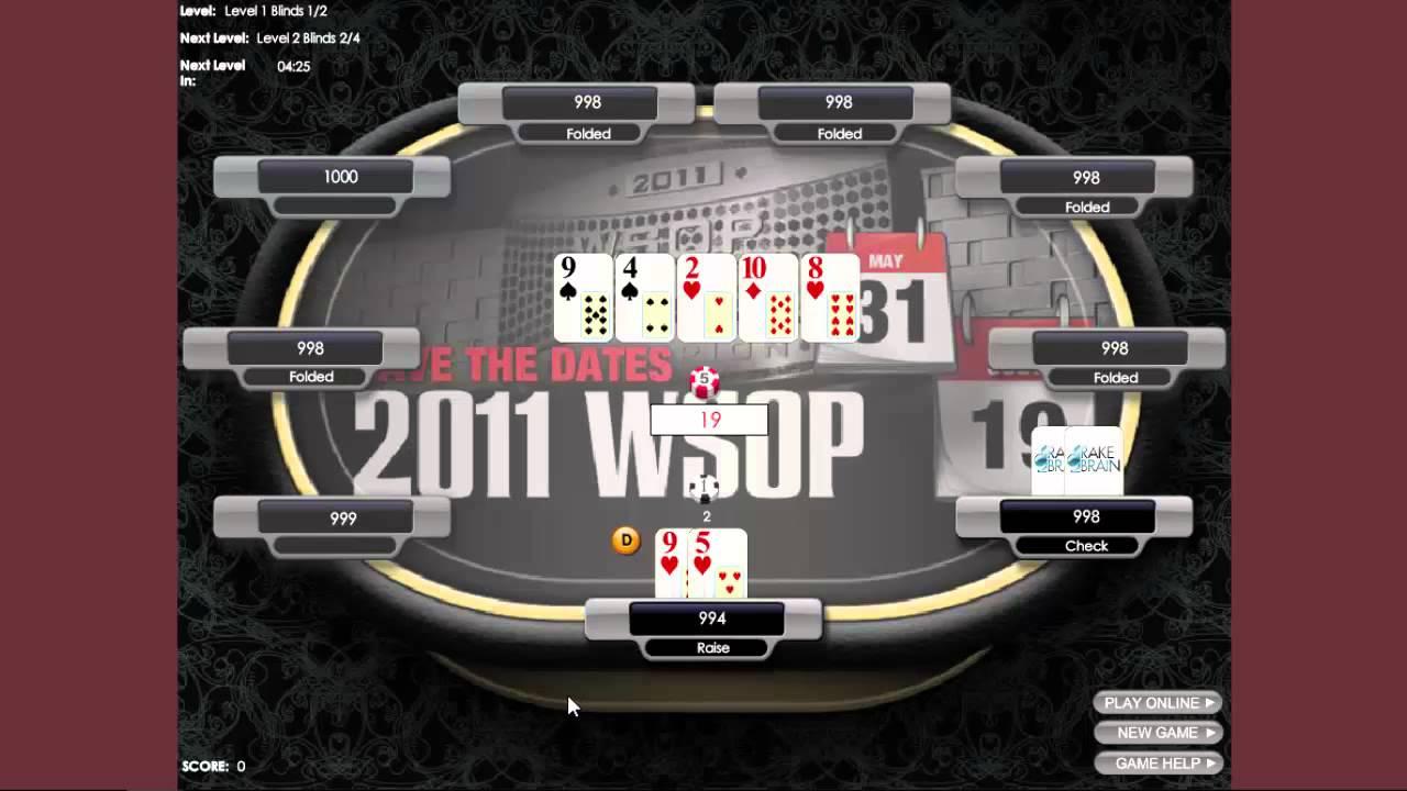 Poker En Ligne Gratuit Sans Inscription : Top 3 Des encequiconcerne Jeux Gratuits Sans Téléchargement Et Sans Inscription