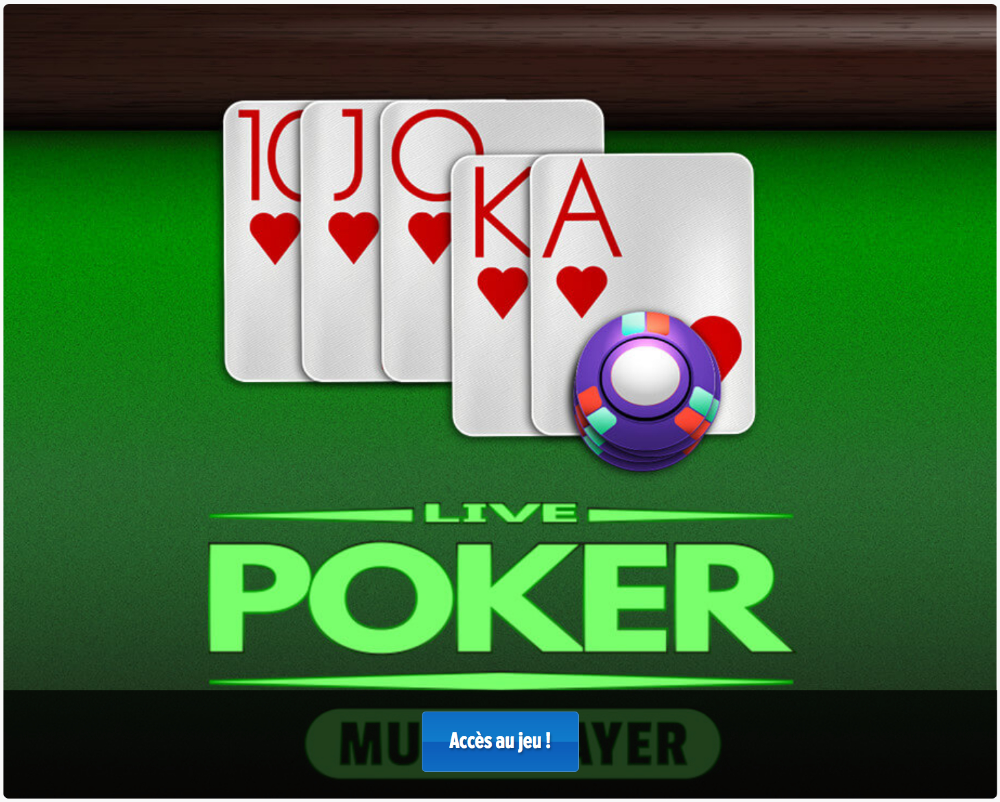 Poker Gratuit En Ligne Multijoueur Sans Téléchargement concernant Jeux Sans Téléchargement Gratuit