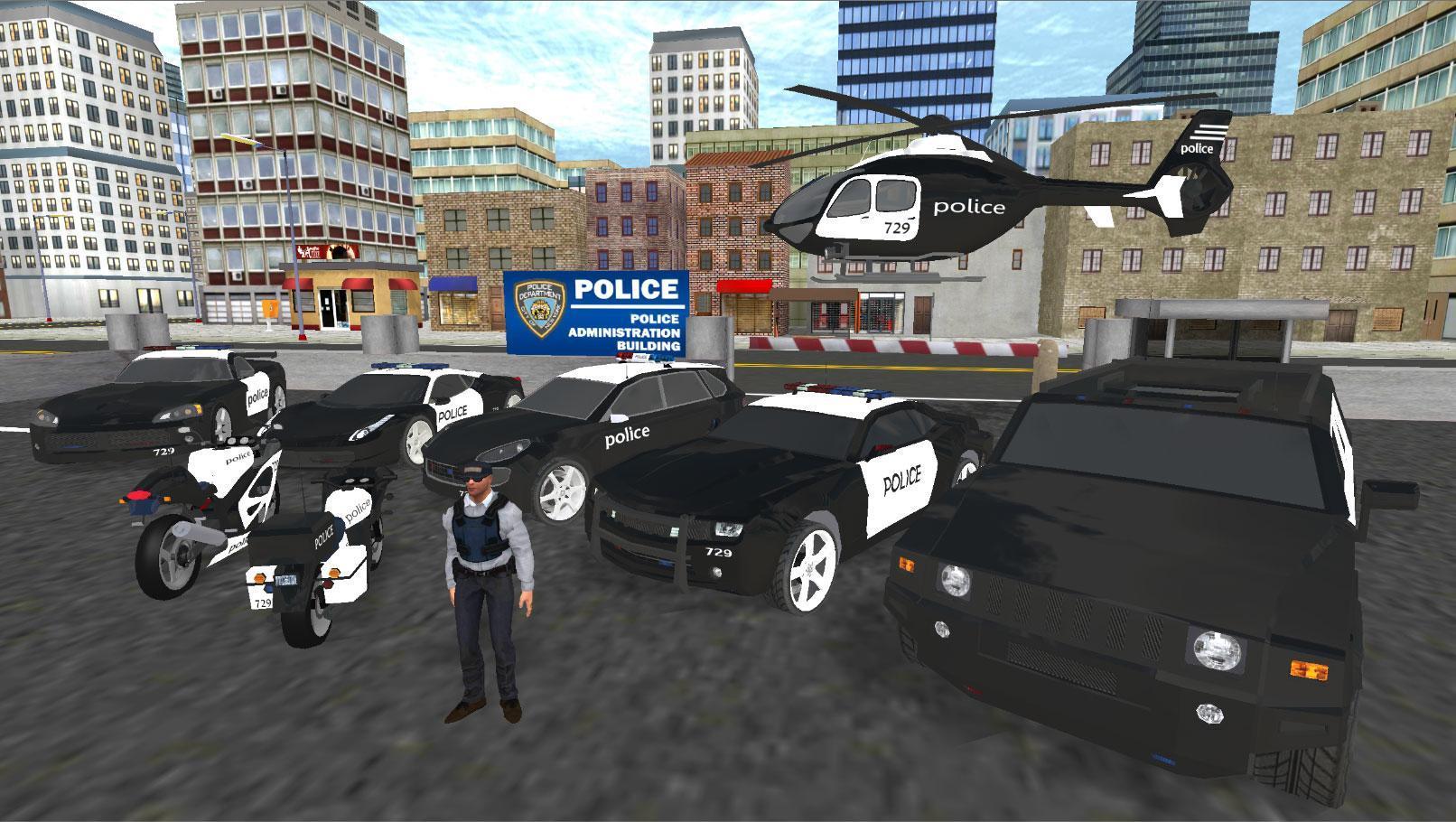 Police Et Voiture Simulateur De Jeu 3D Pour Android tout Jeux De Voiture Avec La Police
