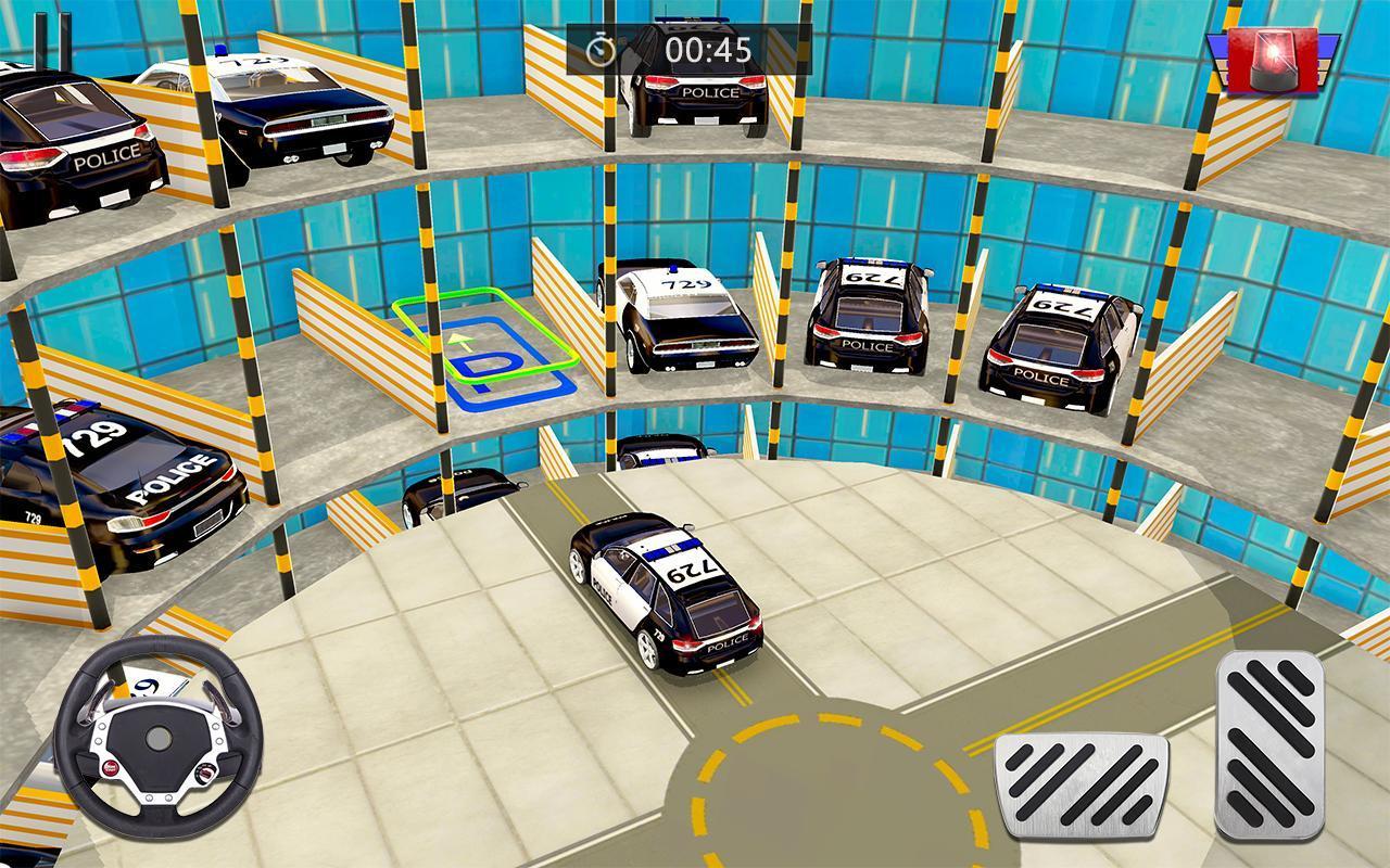 Police Voiture Parking Jeux Gratuit Pour Android à Jeu De Voiture De Police Gratuit