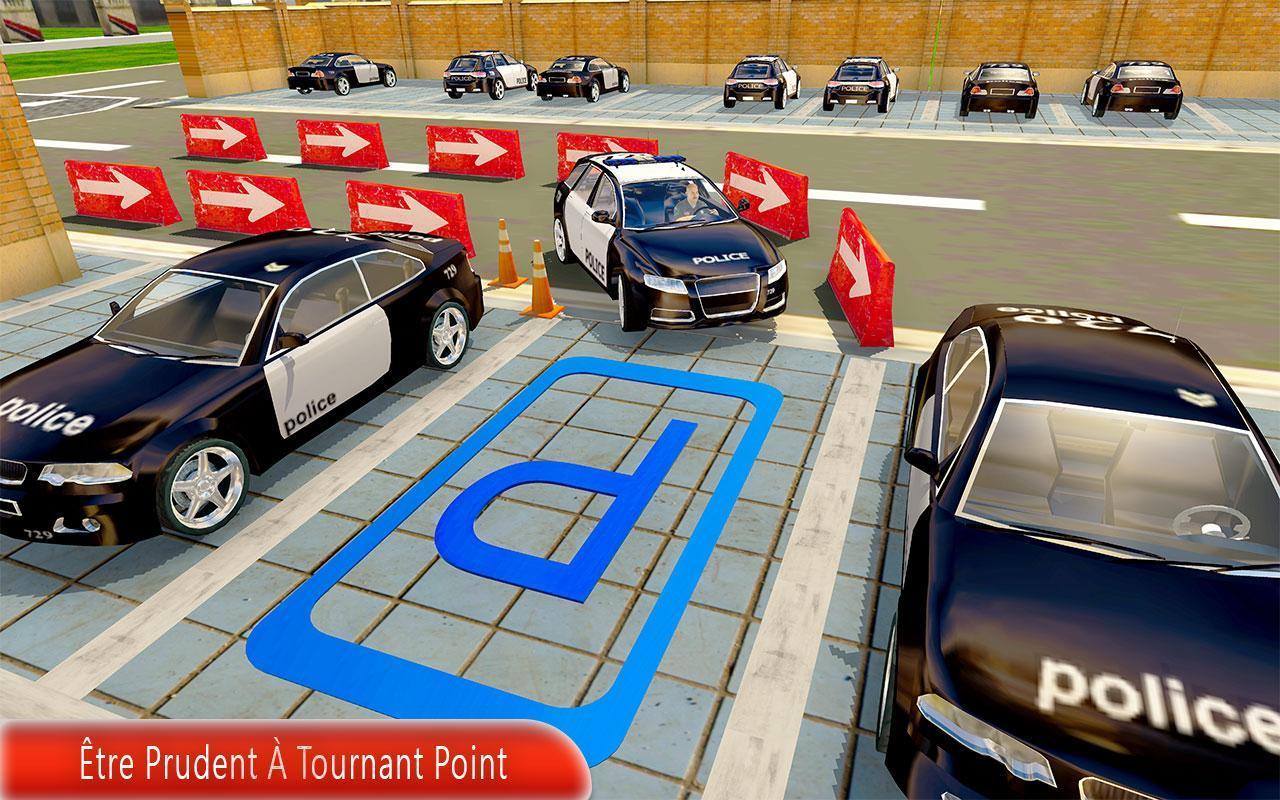 Police Voiture Parking Jeux Gratuit Pour Android serapportantà Jeu De Voiture De Police Gratuit