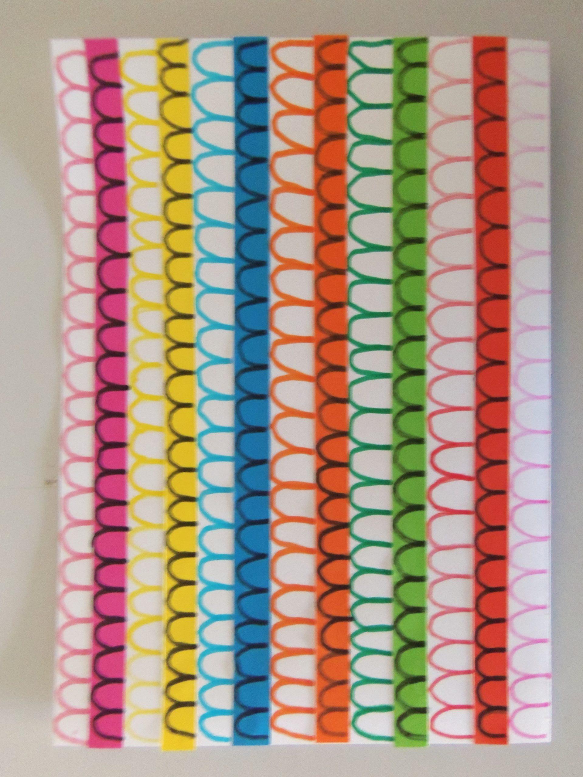 Ponts 6 - Format A4 A5 Feutres Ms Gs Maryse R. | Graphisme dedans Activités Graphiques Gs