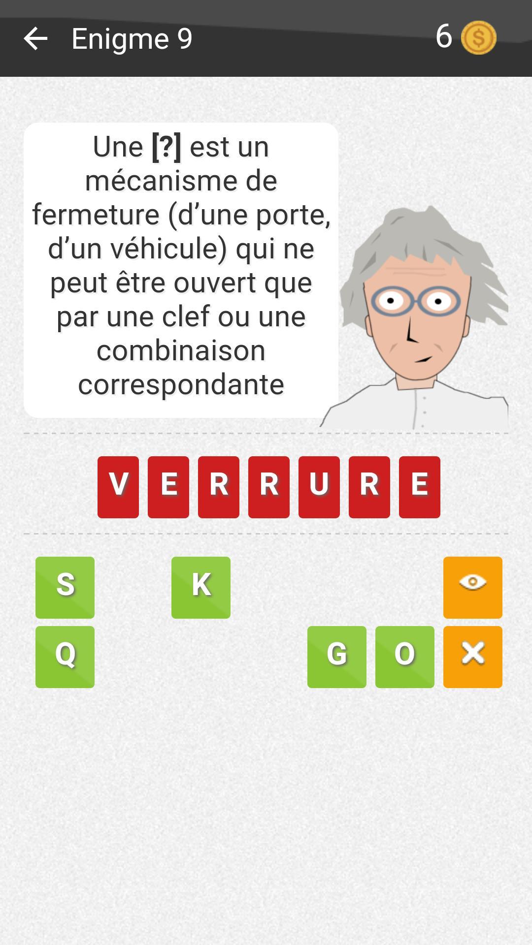 Pr. Valenok, Le Mot Mystère For Android - Apk Download intérieur Mot Mystere