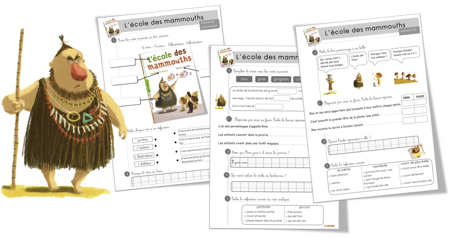 Prehistoire | Bout De Gomme tout Jeux De Préhistoire