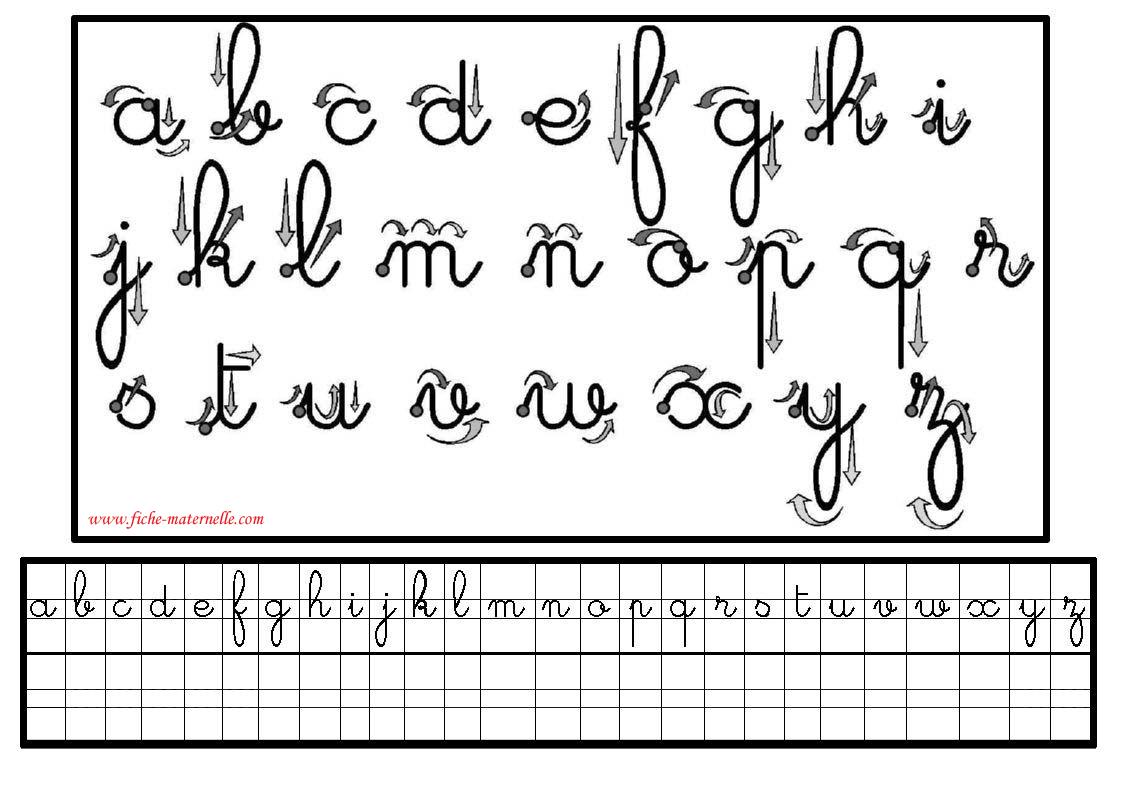Préparation Au Cp : Écriture En Maternelle Et Cp intérieur Apprendre Les Lettres Maternelle