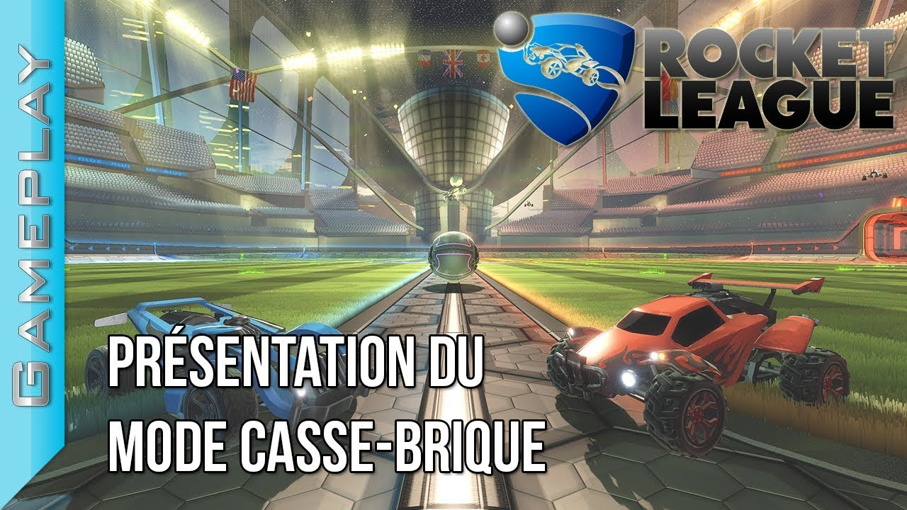 Présentation Du Mode Casse-Brique - Rocket League | Gameplay serapportantà Jouer Au Casse Brique