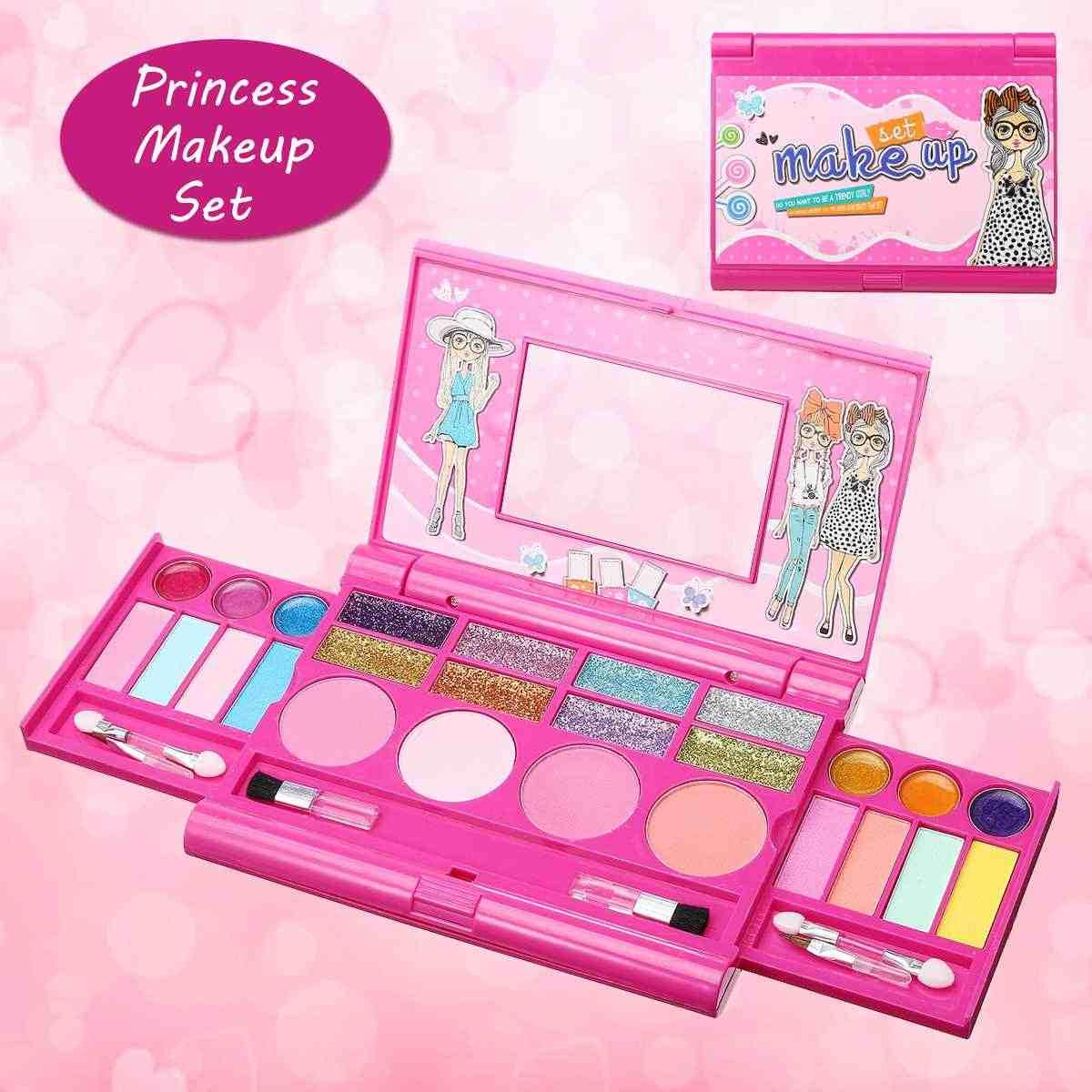 Princesse Enfants Maquillage Cosmétiques Jeu De Boîte À avec Jouer A Des Jeux De Fille