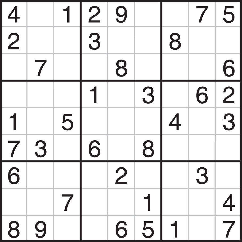 Printable Sudoku | Sudoku, Sudoku Puzzles Printables, Sudoku serapportantà Sudoku Grande Section