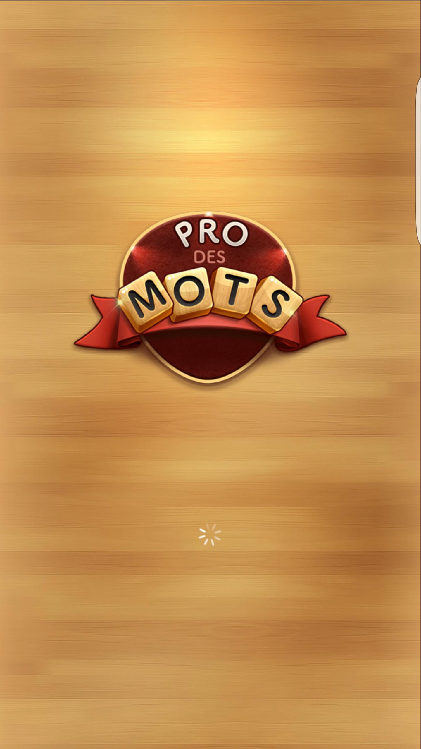 Pro Des Mots Android 17/20 (Test, Photos) tout Jeux De Mots Gratuits En Francais A Telecharger