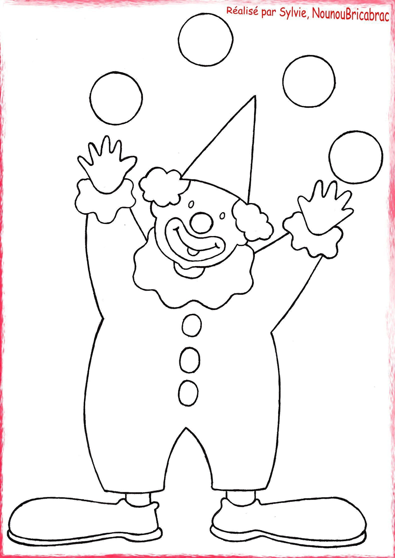 Projet Cirque En Petite Section - Prépalipopette avec Coloriage Cirque Maternelle