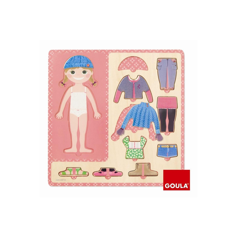 Puzzle 10 Pièces Petite Fille S'habille concernant Jeux De Fille Puzzle