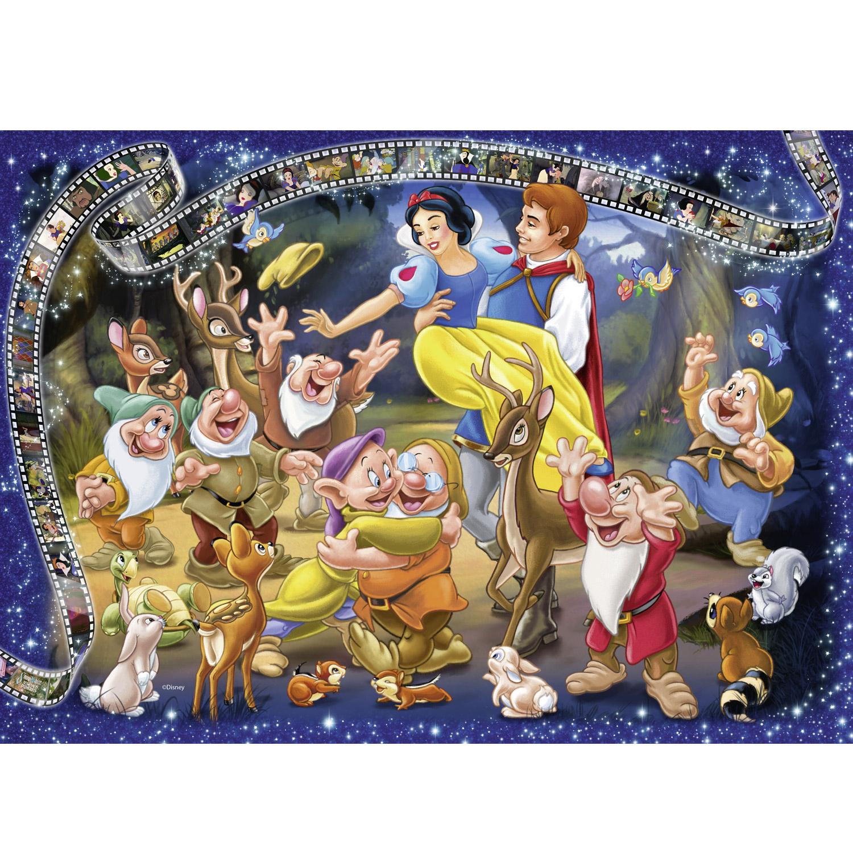 Puzzle 1000 Pièces Collector's Edition Disney : Blanche-Neige avec Puzzles Adultes Gratuits