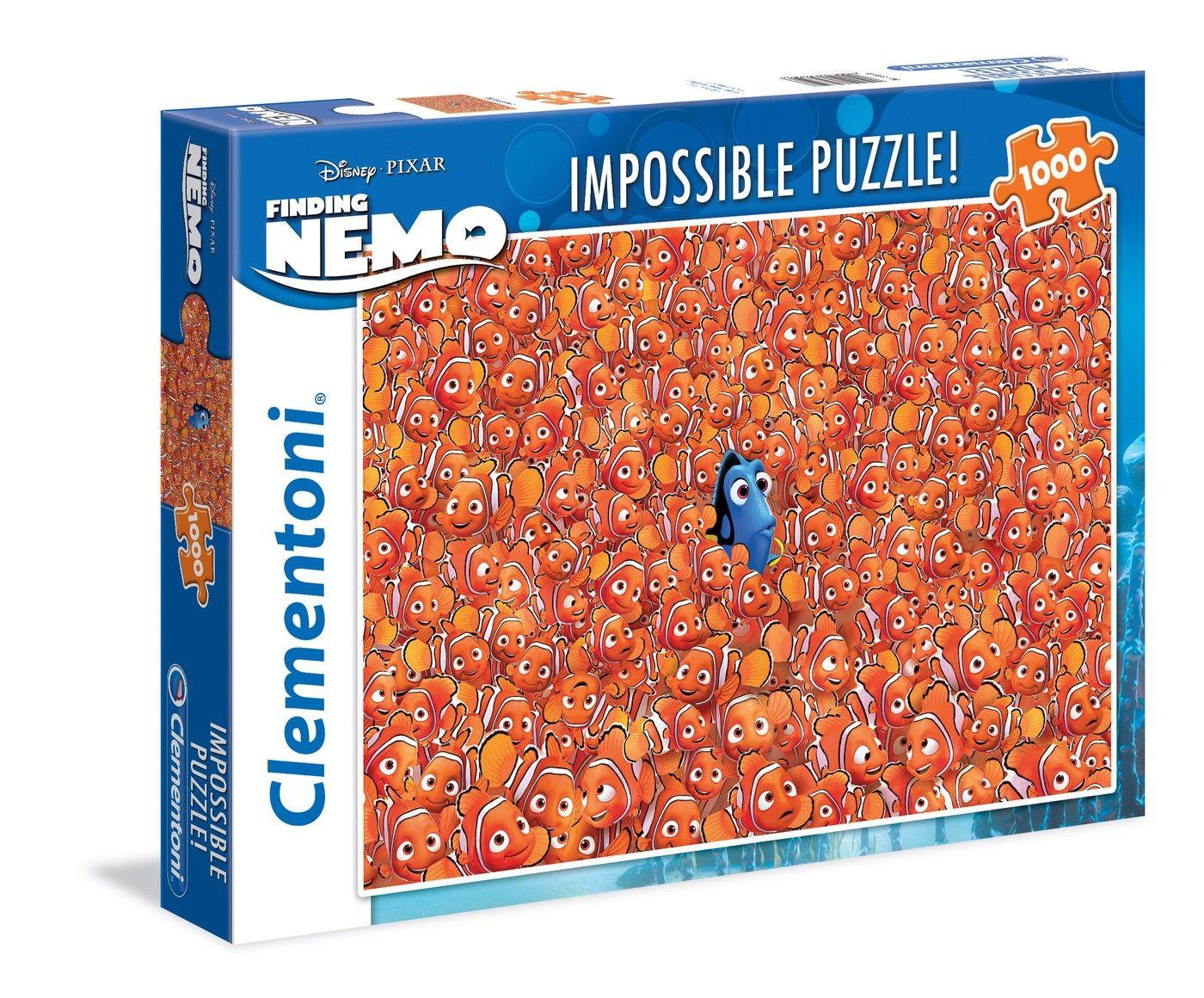 Puzzle Clementoni Impossible 1000 - Finding Nemo | Jeu De intérieur Puzzle A Faire En Ligne