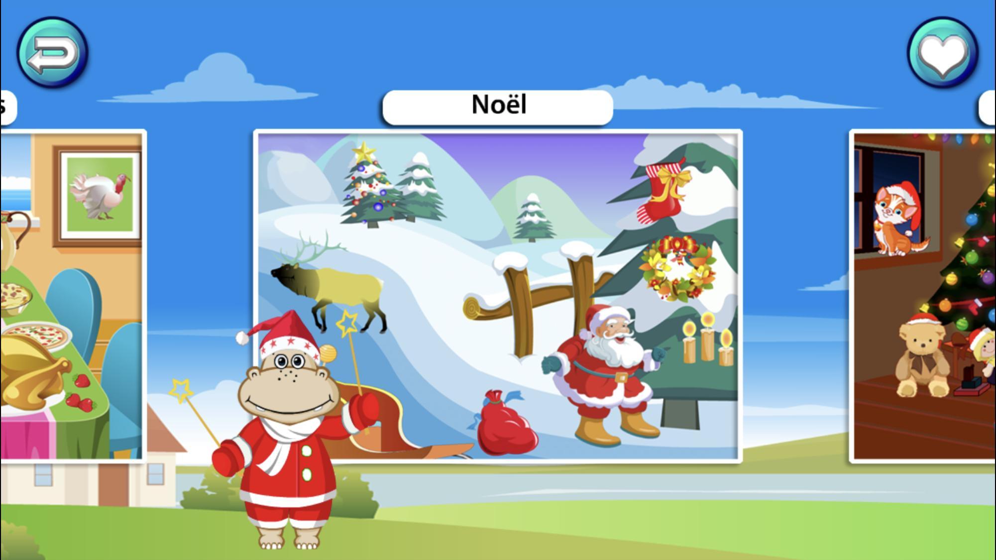 Puzzle De Forme Jeu Préféré Des Enfants Gratuit Pour Android concernant Jeu Pour Noel Gratuit