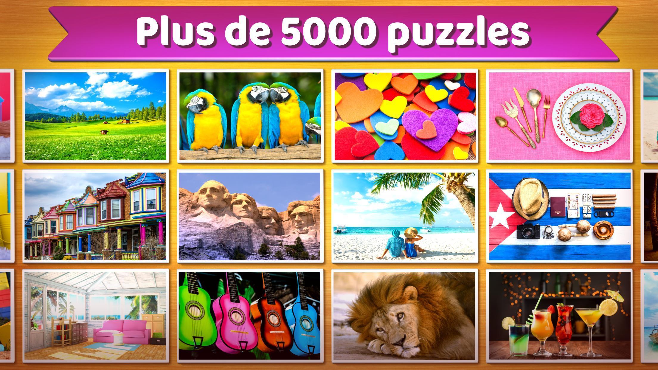 Puzzle 🧩 - Jeux De Puzzle Gratuit Pour Android à Jeu De Puzzl Gratuit