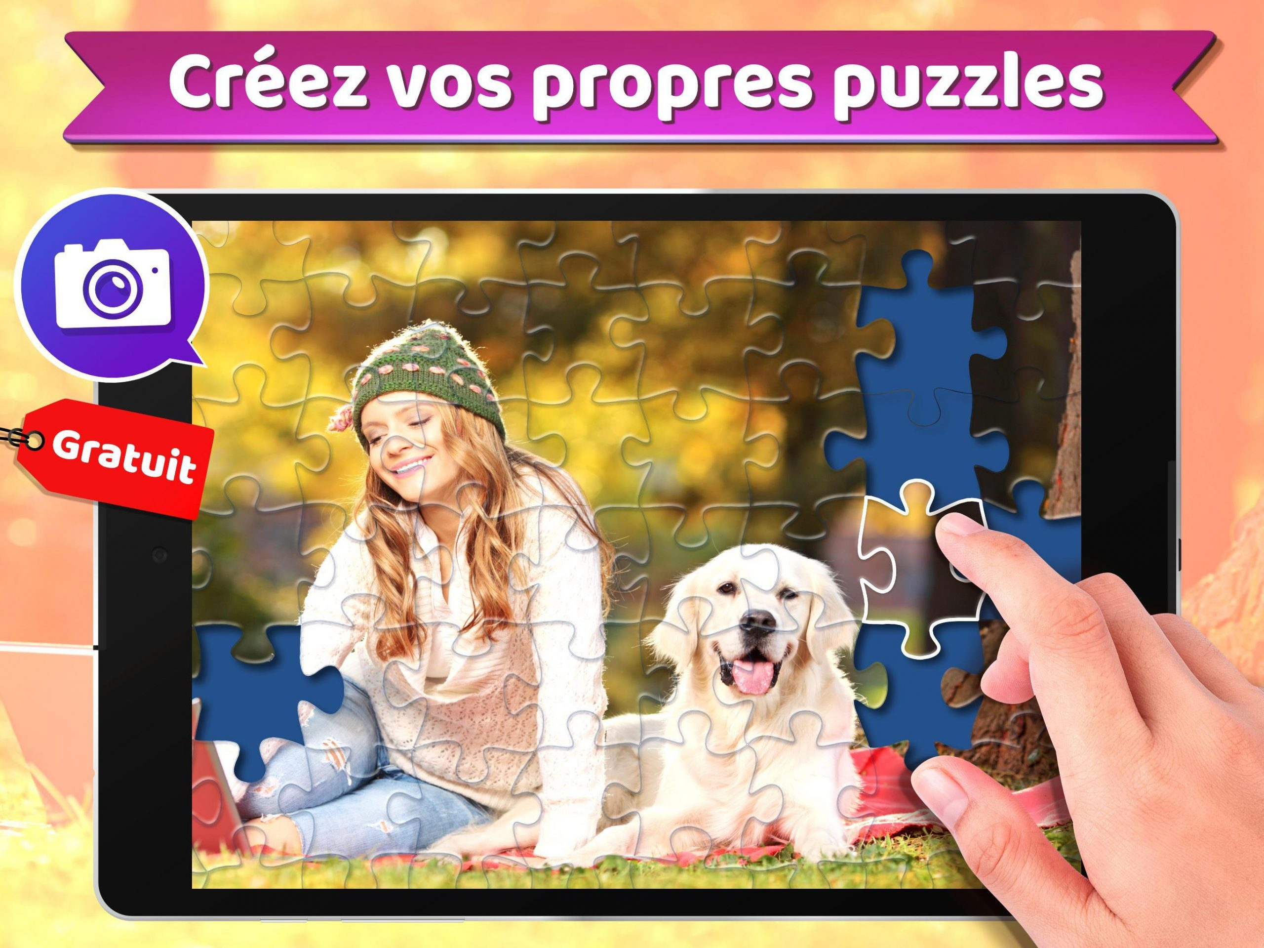 Puzzle 🧩 - Jeux De Puzzle Gratuit Pour Android encequiconcerne Jeu De Puzzl Gratuit