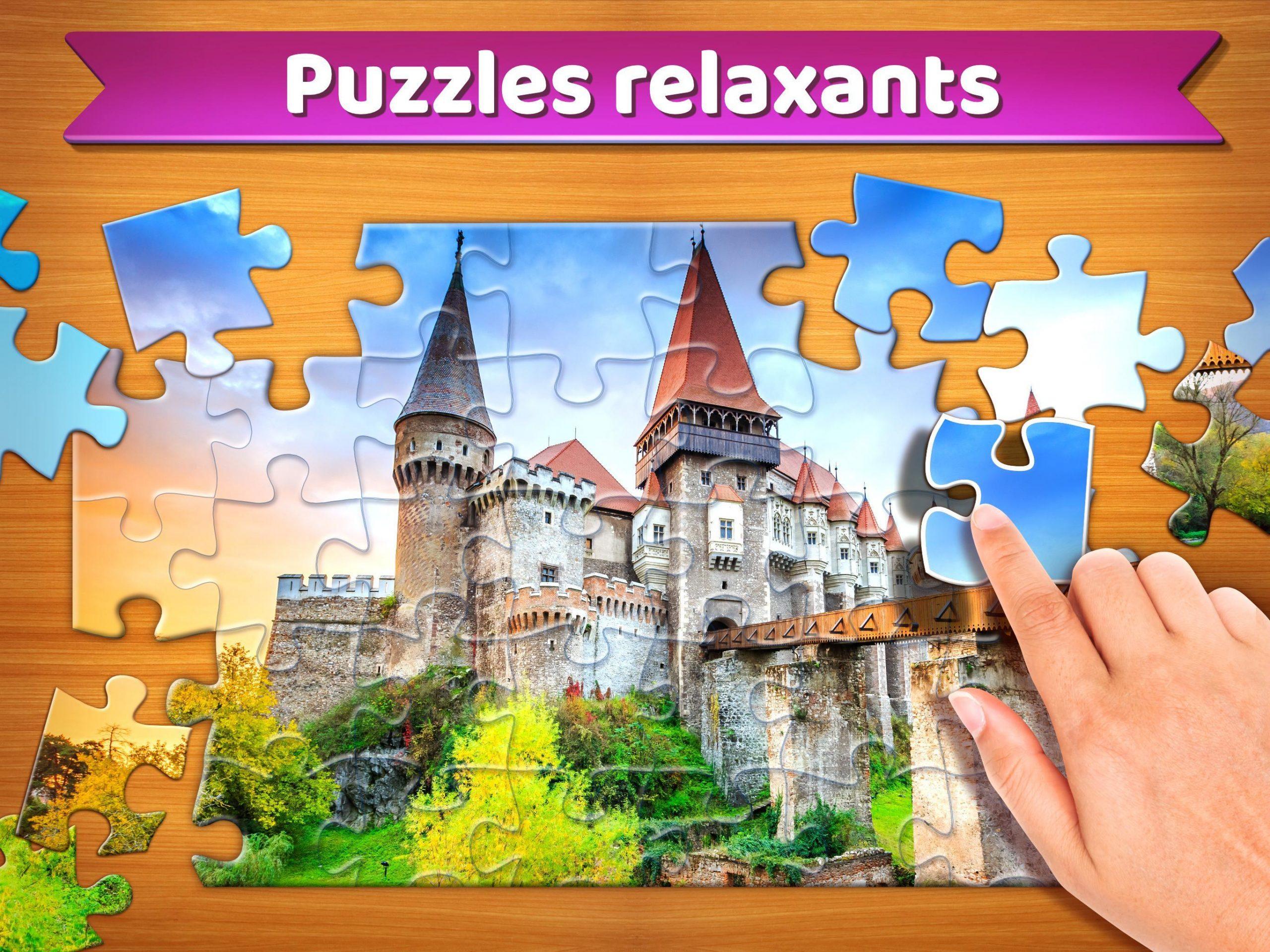 Puzzle 🧩 - Jeux De Puzzle Gratuit Pour Android intérieur Jeu De Puzzl Gratuit