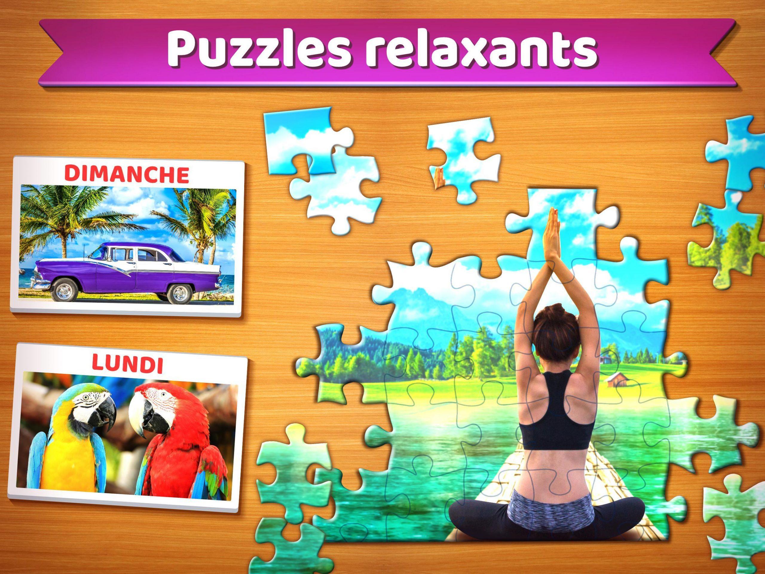 Puzzle 🧩 - Jeux De Puzzle Gratuit Pour Android tout Jeu De Puzzl Gratuit