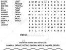 Puzzle Page Avec Deux Jeux De Mots (En Anglais). Capitales dedans Jeu Des Capitales