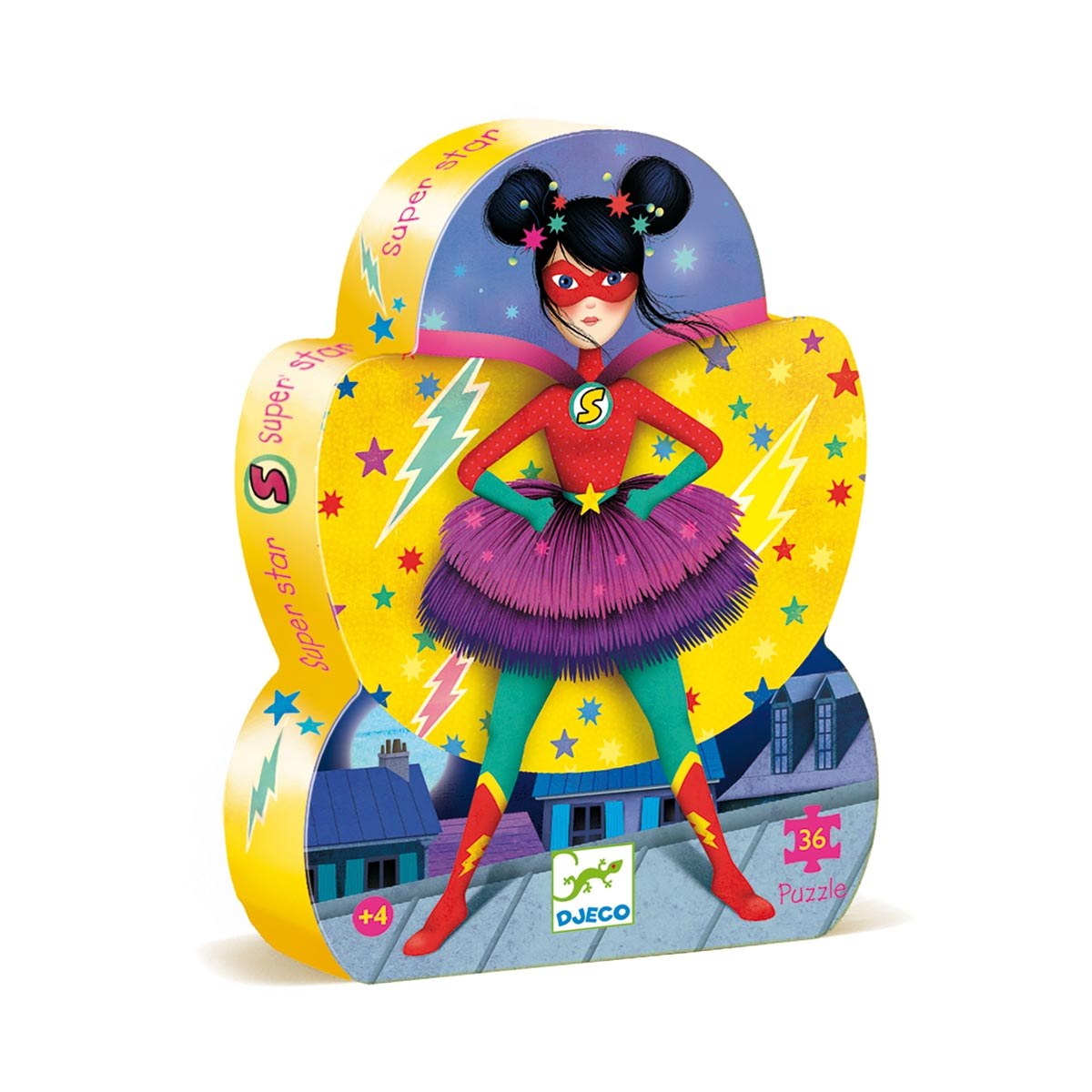 Puzzle Super-Héros Fille 36 Pièces avec Puzzle Fille 3 Ans