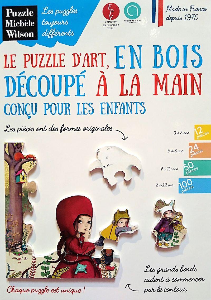 Puzzles En Bois Découpés À La Main Et Made In France pour Puzzle Fille 3 Ans