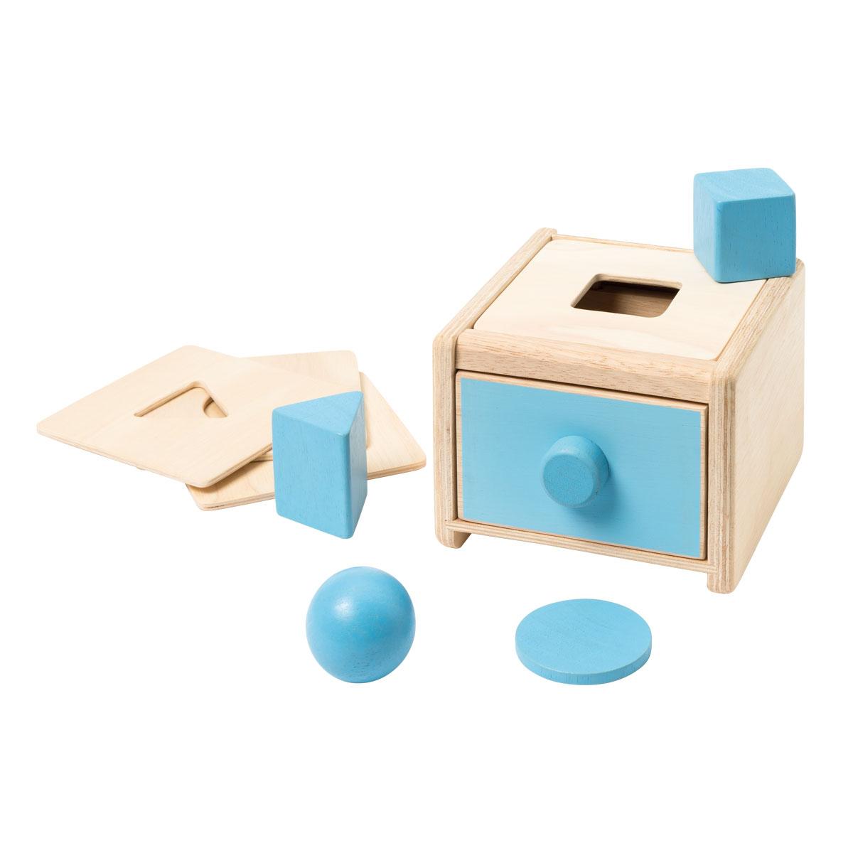 Qopo concernant Boite À Forme Montessori