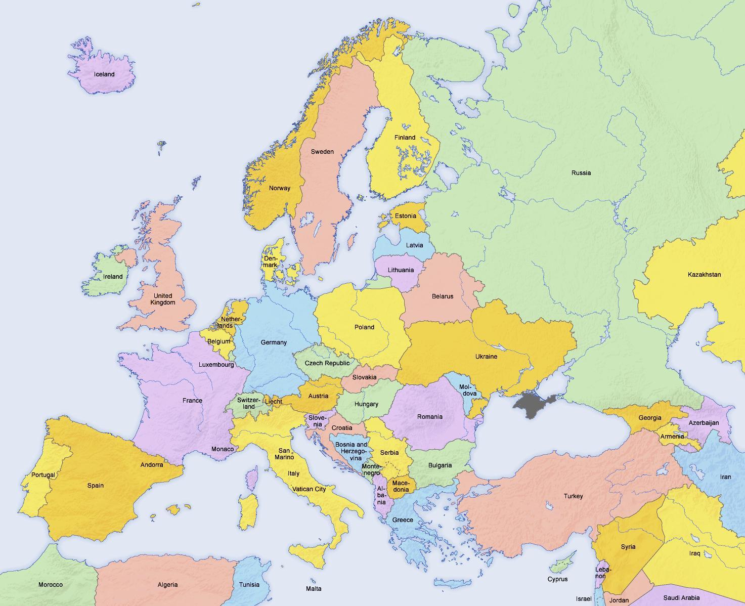 Quelle Est La Différence Entre L'europe Et L'union Européenne concernant Liste Des Pays De L Union Européenne Et Leurs Capitales