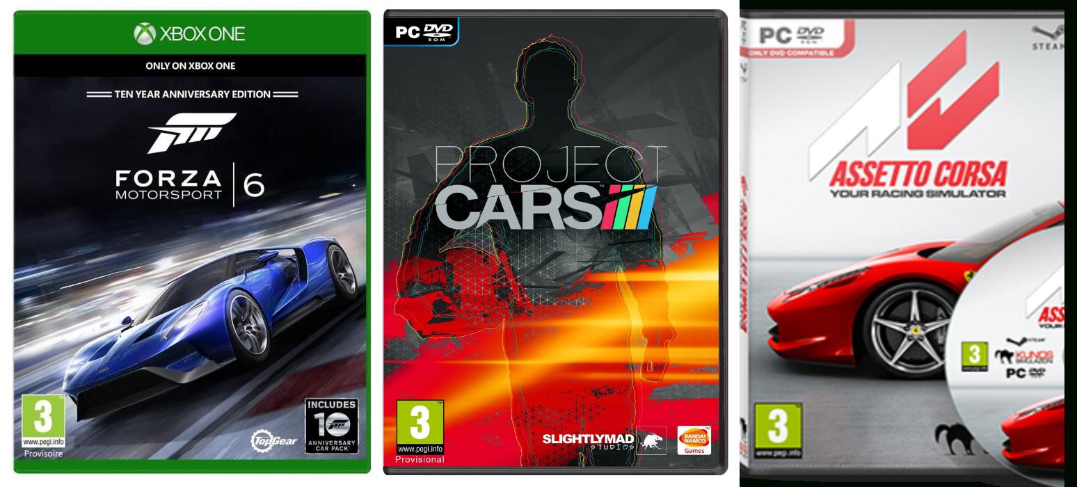 Quelle Est La Meilleure Simulation Automobile ? - Gaming Family tout Jeux De Voiture Au Volant