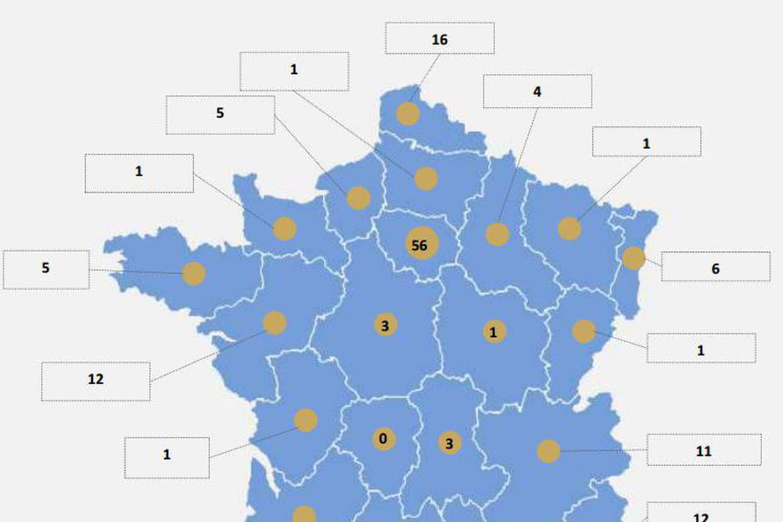 Quelle Est La Répartition Des Data Centers En France Par à France Nombre De Régions