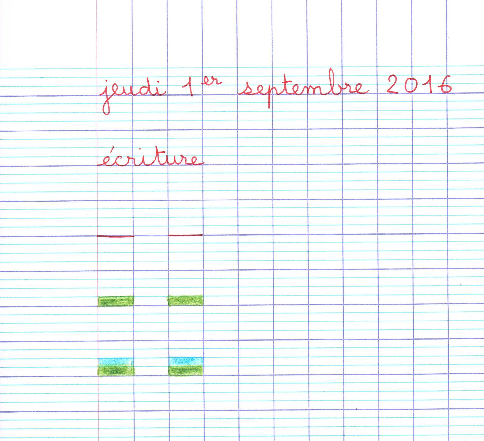 Quelle Place Pour L'écriture Manuscrite À L'école Élémre ? à Ligne Écriture Gs