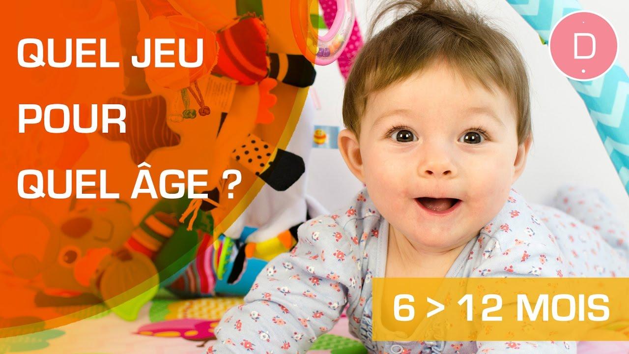 Quels Jeux Pour Un Bébé De 6 À 12 Mois ? - Quel Jeu Pour Quel Âge ? serapportantà Jeu De Bebe Pour Fille