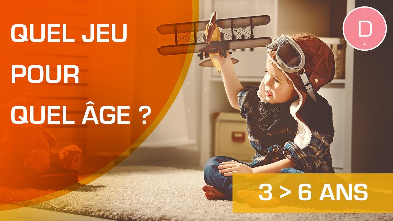 Quels Jeux Pour Un Enfant De 3 À 6 Ans ? - Quel Jeu Pour Quel Âge ? tout Jeux De Connaissance 3 4 Ans