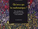 Qu'est-Ce Que Les Mathématiques ? Une Introduction Élémre Aux Idées Et  Aux Méthodes destiné Mathématiques Facile