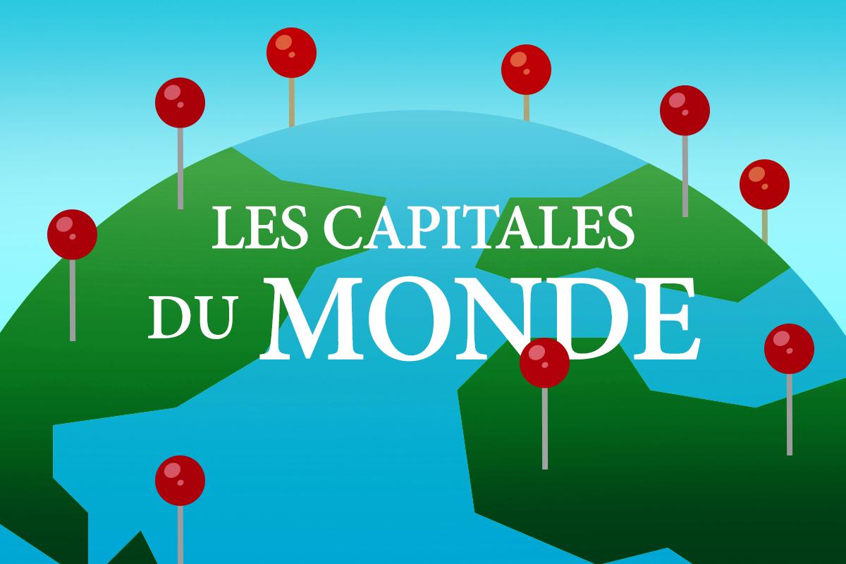 Quipo Quiz : Les Capitales Du Monde pour Carte Du Monde Et Leur Capitale