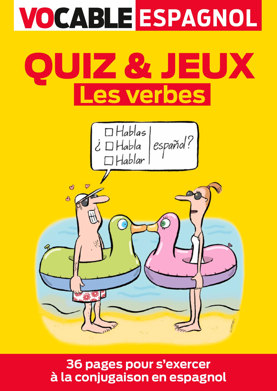Quiz & Jeux Espagnol - Les Verbes dedans Verbe Jeux
