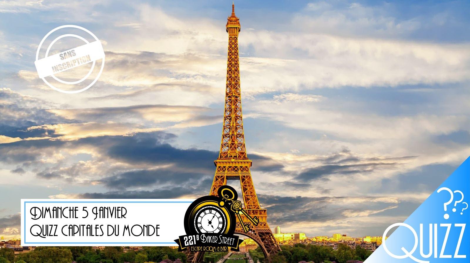 Quizz Capitales Du Monde : Jeu, Concours A Dijon serapportantà Jeu Des Capitales