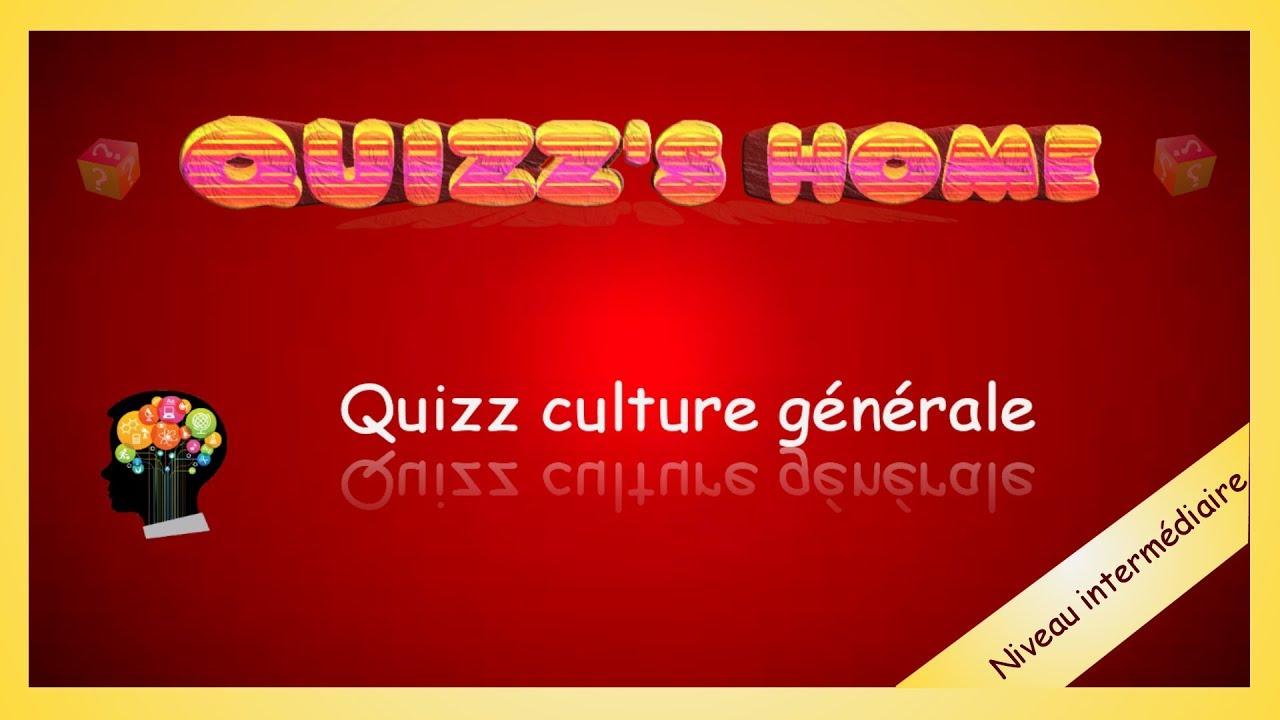 Quizz Culture Générale (Niveau Intermédiaire) dedans Jeu Culture Générale En Ligne