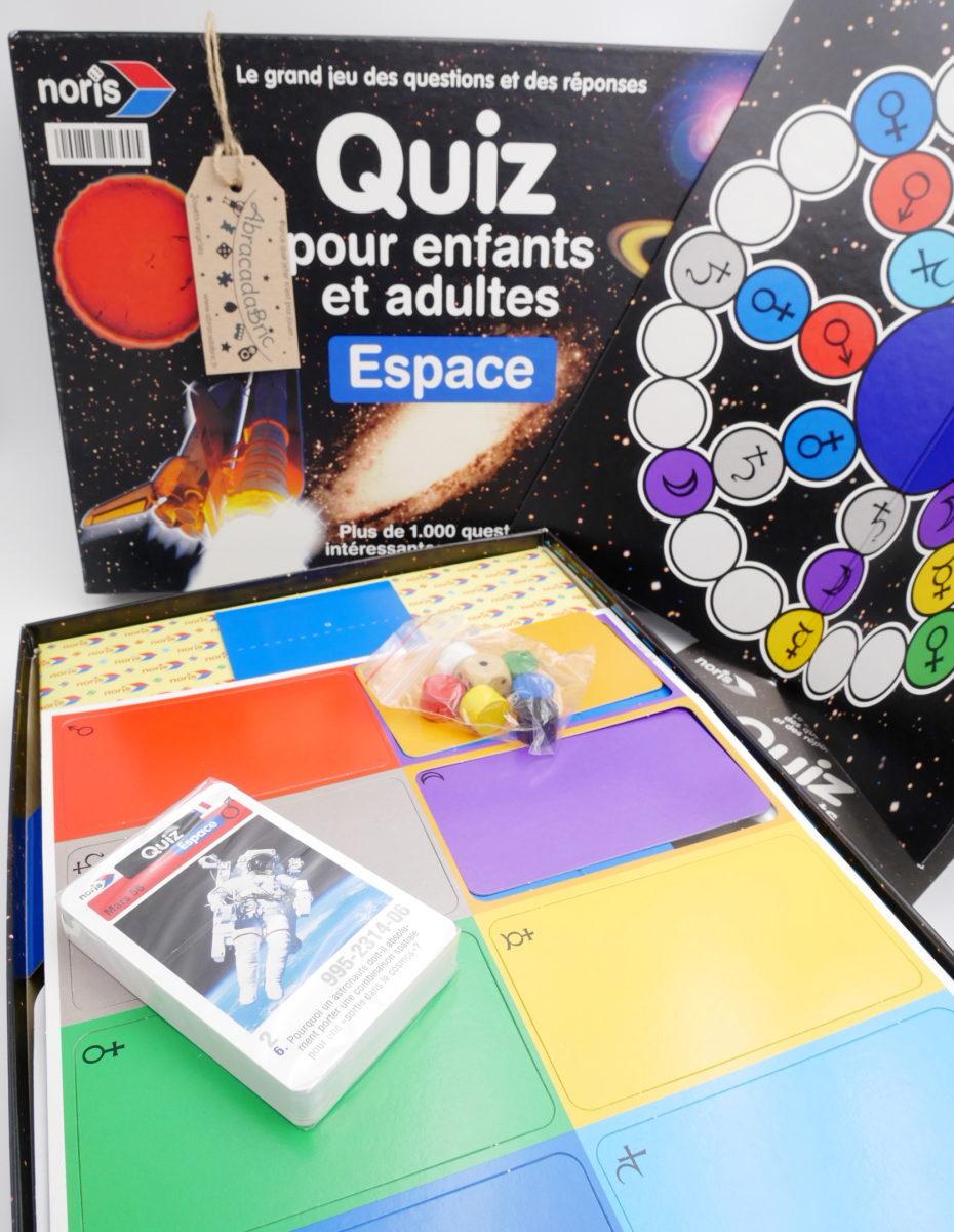 Quizz Pour Enfants « Espace » – Noris à Quizz Enfant