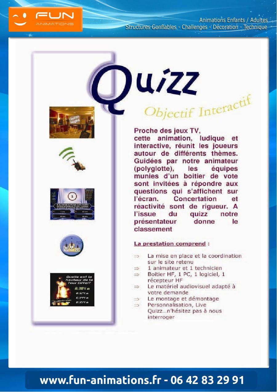 Quizz Télécommandes, Boîtiers De Vote Électronique Pour Qcm à Quizz Enfant